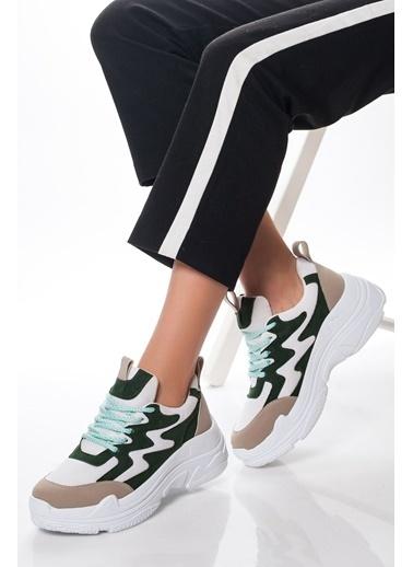 Derithy Sneakers Yeşil